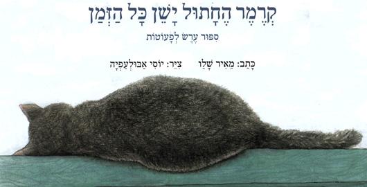 קרמר החתול ישן כל הזמן